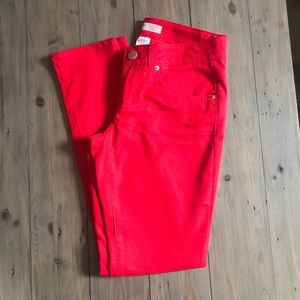 Red Skinny Jeans 🎄 Size 9